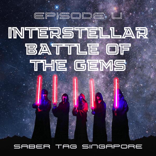 saber tag singapore - interstellar battle of the gems